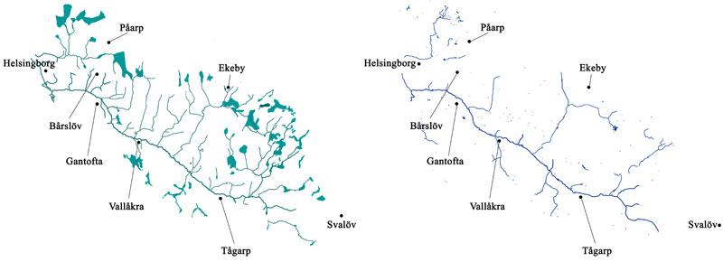 Råån 1812-20 och 2011