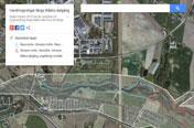 Vandringsstigar på google maps
