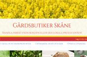 Gårdsbutiker i Skåne
